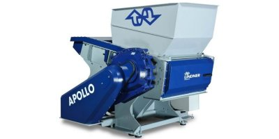 Lindner Apollo - Model 700 / 1000 / 1300 / 1600 - Stationar Universal Shredding System