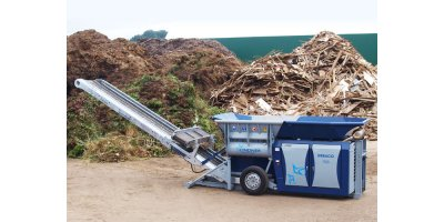 Lindner Urraco - Model 75 - Mobile Shredder System