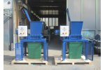 Crushing of synthetic materials and plastics with Mercodor crushing systems - Waste and Recycling - Material Recycling