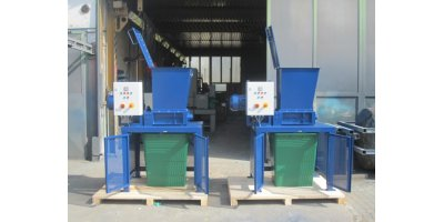 Crushing of synthetic materials and plastics with Mercodor crushing systems