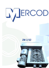 Mercodor - Model Type ZM 2/52 - Waste Shredder System - Brochure
