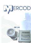 Mercodor - Model Type ZM 1/44 - Waste Shredder System - Brochure
