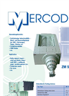 Mercodor - Model Type ZM 54 - Waste Shredder System - Brochure
