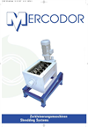 Mercodor - Model Type E-ZM 380 - Waste Shredder System - Brochure