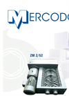 Mercodor - Model Type ZM 2 - Waste Shredder System - Brochure