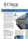 CTech CFP Filter Press brochure