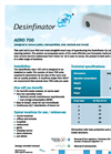 Aero - 700 For Removal of Pollens, Microparticles, Dust, Bacteria, and Moulds Brochure