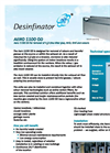 Aero 1100 OD for Removal ofH2S (The Killer Gas), NH3, CH4 and Odours Brochure