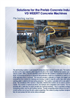 Pile Finishing Machine - Brochure