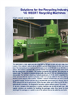 High Speed Scrap Baler - Brochure