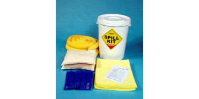 Fentex - Model CSK6 - Chemical Spill Kit in Plastic Drum