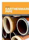 Keramo - Earthenware Pipe – Brochure