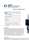 High Speed Isolation Valve  Brochure