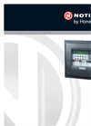 Notifier - Model ID3000 - Intelligent Fire Alarm Panel - Brochure