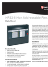 Model NFS2-8 - Non Addressable Fire Alarm - Data Sheet