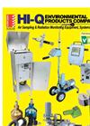 HI-Q Air Sampling & Radiation Monitoring Equipment - 2016 Catalog