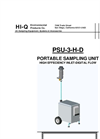 PSU-3-H-D Portable Sampling Unit - Brochure