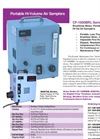 CF-1000BRL Sereis Portable Brushless Blower Air Samplers - Brochure