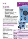 CF-900 Sereis Portable Air Samplers - Brochure