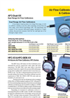 Analog and Digital AFC-HFC-XX Series Air Flow Calibrators