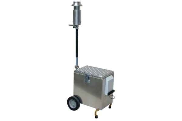 HI-Q - Model PSU Series - Outdoor Rated, Continuous Duty, Mobile Cart Air Sampling Systems