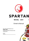 Spartan - 2001 - Drain Cleaning Machines - Manual