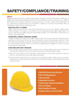 Safety Compliance & Training- Brochure