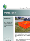 Canadyne PortaTanks - Temporary Storage Tank Brochure