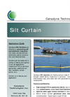 Canadyne - Silt Curtain and Turbidity Barrier Brochure