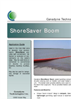 Canadyne ShoreSaver - Air-Inflatable Boom Brochure