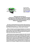 OSEI Summary of BP Testing Brochure