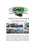 OSE II shoreline clean up Philippines Estancia