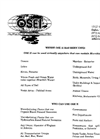 Where OSE II Has Been Used - Brochure (PDF 70 KB)