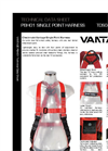 Vantage - Model PBH 01 - Single Point Harness Brochure