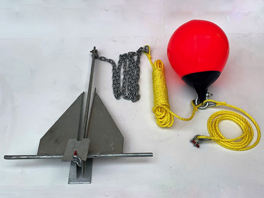 Tbc Accessories Anchor Systems Danforth Anchor Kit By