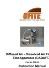 Diffused Air / Dissolved Air Flotation Test Apparatus Brochure