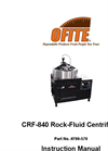 Model CRF-840 - Rock Fluid Centrifuge Brochure