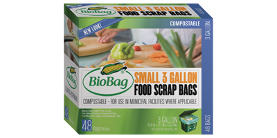 BioBag - Model 187132 - Small 3 Gallon Food Scrap Bag Value Pack