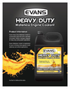 EVANS - Waterless Engine Coolant for Diesel Heavy Duty Trucks - Brochure