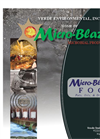 Micro-Blaze - Model FOG - Fats, Oils, & Grease Brochrue