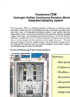 Sycamore - Continuous Emission Monitors (CEM) Brochure