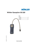 Model GS 220 - Gas Sniffer- Brochure