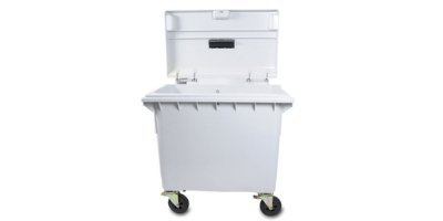 4-Wheel Secure Collection Carts