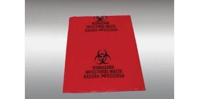 Infectious Waste Hazardous Material Zip Bags