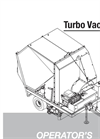 Model TV40 - Vacuum/Sweeper Brochure