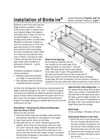 Birdwire - Spring-tensioned Wire System - Installation Instructions