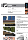 Gutter-Point - Bird Spikes - Brochure