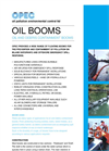 Oil Booms - Brochure