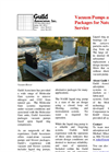 Vacuum Pump & Blower Packages For Natural Gas Service Brochure