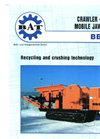 Crawler BB 80 T Mobile Jaw Crusher Brochure